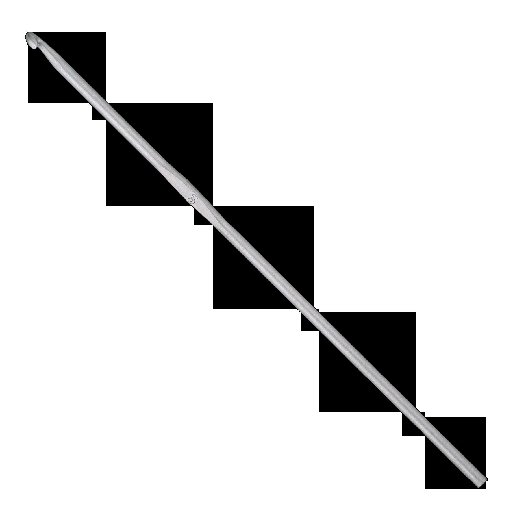 Addi alu horgolótű nyél nélkül 12mm