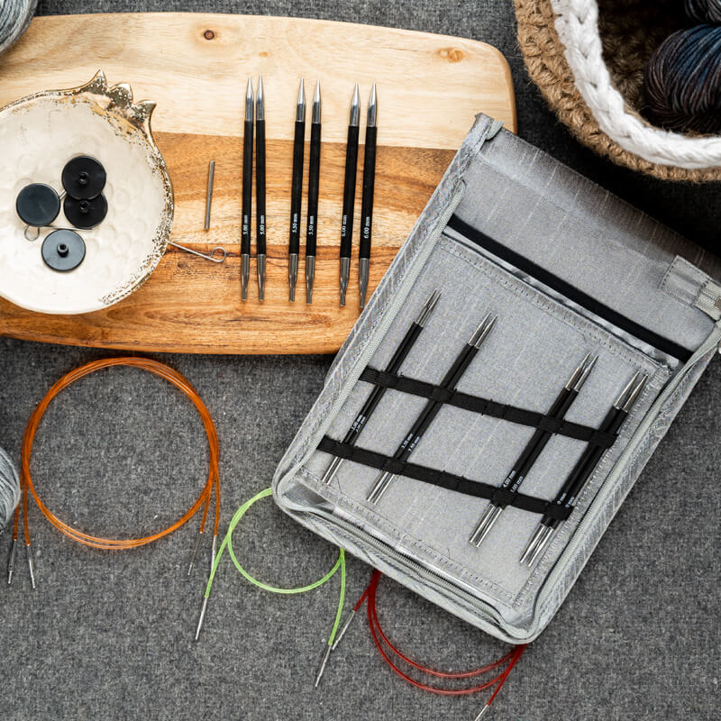 Knit Pro Karbonz IC Deluxe szett